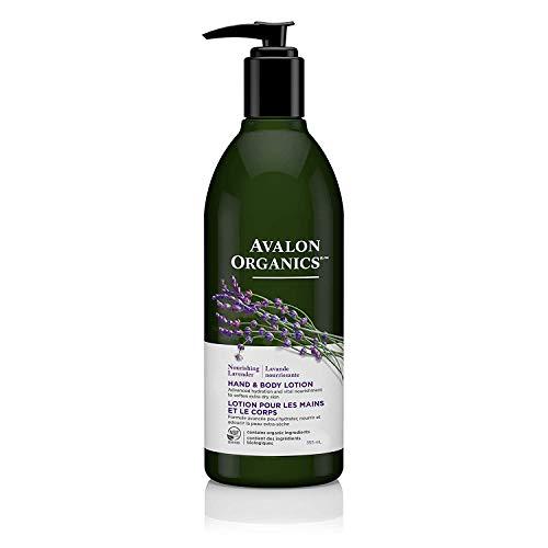 Avalon Organics Nourishing Lavender Hand & Body Lotion, Light Purple ,...