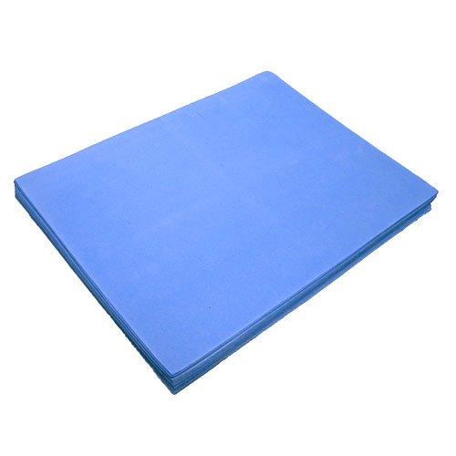 Gomma crepla - 12 pezzi, blu, circa 30 x 23 x 0,16 cm