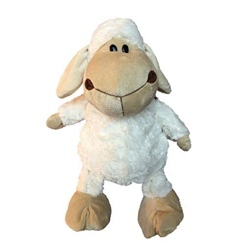 Süsser Kinderrucksack Schaf für Kindergarten - Kindergartentasche für Mädchen und Junge (Weiß)