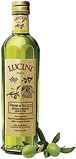 Lucini Italia Premium Select Extra Virgin Olive Oil - Produced from 100 percent Italian olives - Case of 6 - 25.4 Fl oz.