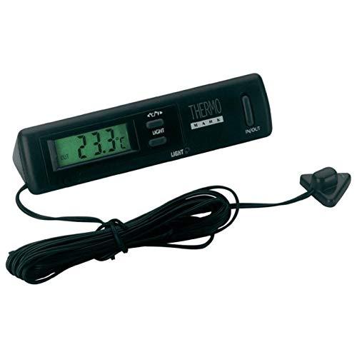 Preisvergleich Produktbild hr-imotion 10110101 digitales Thermometer für Innen- und Außentemperatur [ Inkl. Batterie / - 50C - + 70C / 3m Kabel für Außenfühler / Beleuchtung / Glatteiswarnung selbstklebend]