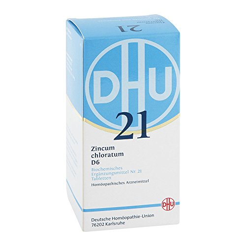 DHU Schüßler-Salz Nr. 21 Zincum chloratum D6 Tabletten, 420 St. Tabletten