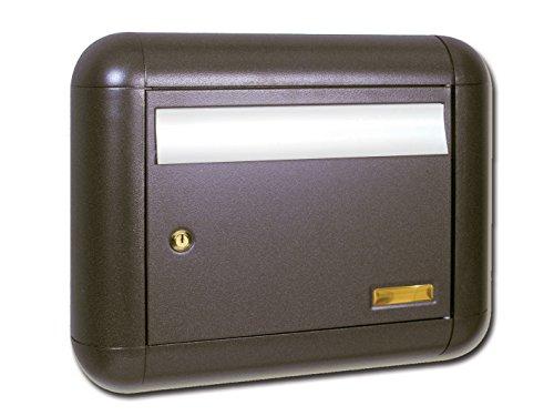 Aluminium box Neve brievenbus, grijs/gietijzer