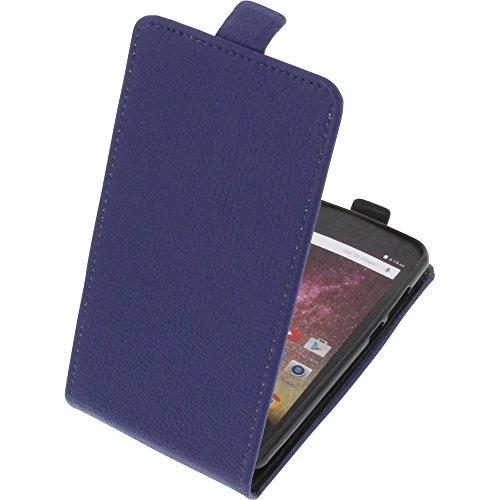 foto-kontor Tasche für Archos Core 50p Smartphone Flipstyle Schutz Hülle blau