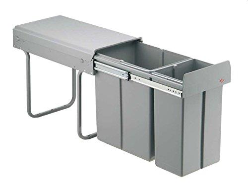 Wesco Bio Double 757621-85 Einbau Abfallsammler Abfalltrennsystem Mülleimer