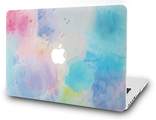 "KECC MacBOok Air 13"" Retina Funda (2020/2019/2018, Touch ID) Dura Case Cover MacBook Air 13.3 Ultra Delgado Plástico {A1932}(Arcoíris de Niebla 2)"