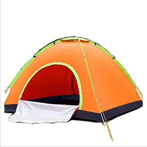 Qaz Outdoor automatische campingtent dubbele deur draagbare tent 2 seconden snelheid open afrekening campingtent