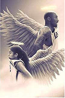 JCCOZ-URG NBA Fans Collection Jigsaw Puzzle - NBA Angel Father Daughter - Every Piece is Unique, Pieces Fit Together Perfe...