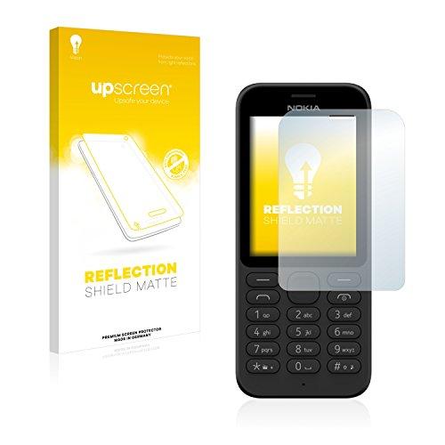 upscreen Entspiegelungs-Schutzfolie kompatibel mit Nokia 215 (Microsoft) – Anti-Reflex Bildschirmschutz-Folie Matt