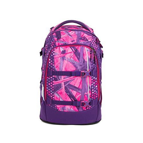 satch Pack Candy Lazer, ergonomischer Schulrucksack, 30 Liter, Organisationstalent, Lila