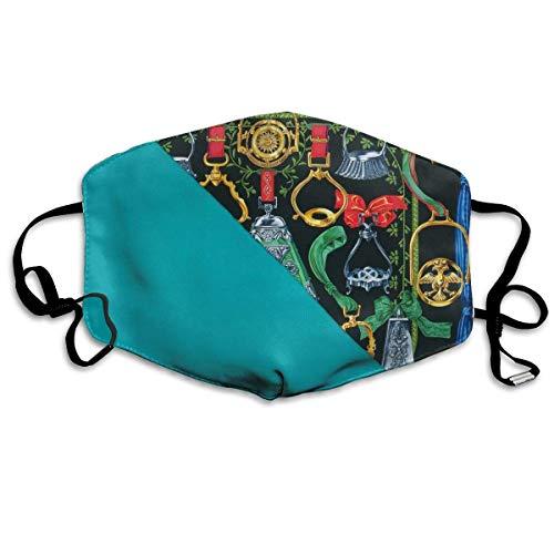 Unisex Anti Stof Sjaal Geschilderde Kleur Foto (172) Maskers Cool Gezicht Mond Masker Voor Kinderen Tieners Mannen Vrouwen
