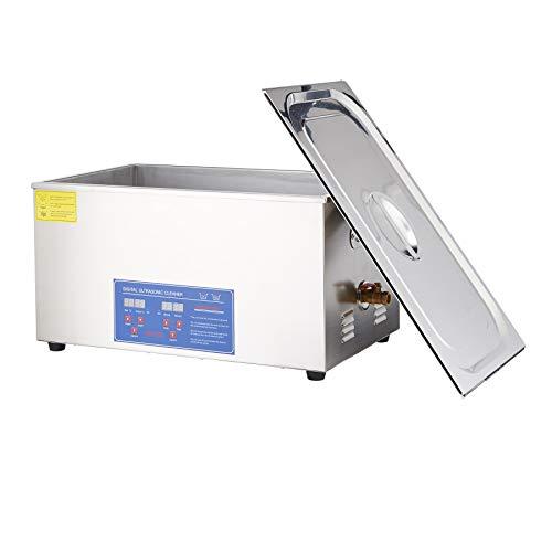 Sfeomi 22L 480W Ultraschallreinigungsgerät Ultraschallgerät Reinigungsgeräte Ultraschallreiniger Reinigung Ultrasonic Cleaner mit Heizung Digital Timer für Brillen Schmuck Zahnprothesen Münzen (22L)