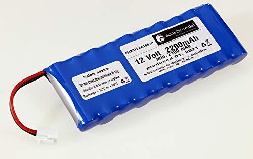 Akkupack geeignet für Rolladensteuerung NiMH AA 12 V / 2200 mAh (min. 2100mAh) baugleich zu Akkupack ROTO ZEL 12V/2,1 Ah WDT-S RT2 SF G2 / G3 / G4