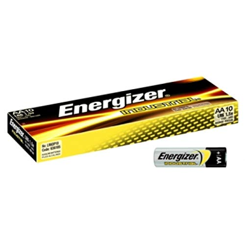 Energizer Industrial Alcalina EN91 Pila Pack 10 uds., 1,5V, Alkaline