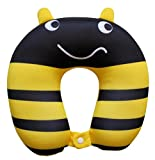 NIDO NEST Kids Travel Neck Pillow - Cute U-Shaped Animal Pillows for...