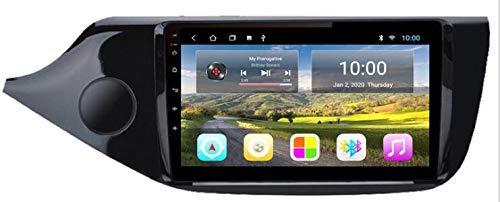 SSeir Android 9.1 Autoradio Coche Navegación de automóviles Estéreo Multimedia Player GPS Radio 2.5D Pantalla táctil para KIA CEED 2013-2015 RHD