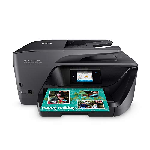 HP OfficeJet Pro 6975 All-in-One Wireless Printer, Double-Sided Print and Scan, Instant Ink & Amazon Dash Replenishment Ready (J7K36A)