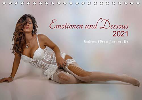 Emotionen und Dessous (Tischkalender 2021 DIN A5 quer)