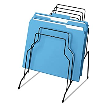 Fellowes Wire Step File Organizer 8 Tier Black 72614