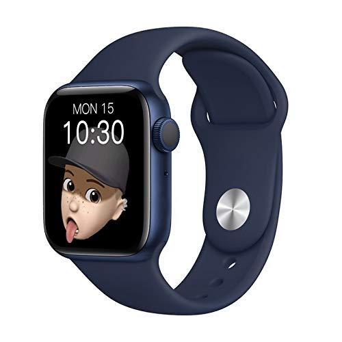 Podómetro inteligente impermeable con pantalla grande, pulsera Bluetooth multifunción, reloj deportivo, recordatorio de función