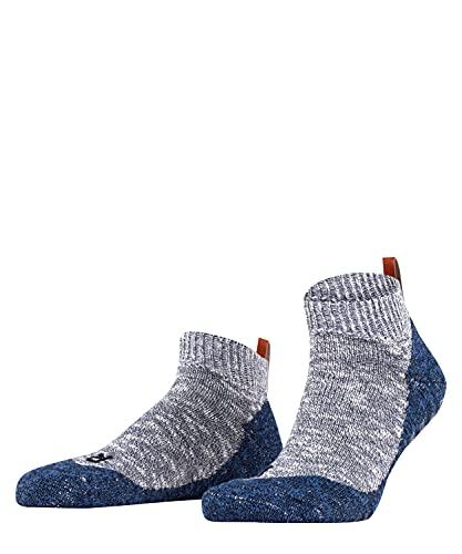 FALKE Herren Lodge Homepad M HP Hausschuh-Socken, Blickdicht, Blau (Storm 6340), 43-44