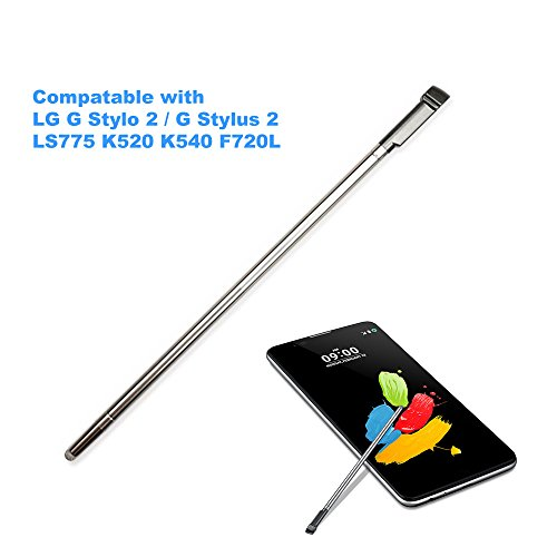 Cemobile Touch Stylus Pen Eingabestift Ersatzteil für LG G Stylo 2 (G Stylus 2) LS775 K520 K540 F720L (Grau)