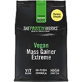 Mass Gainer Vegano Extreme | 100% a Base de Plantas | Alto en Calorías Para el Aumento de Masa | THE PROTEIN WORKS | Plátano Suave | 1kg
