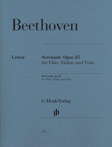Serenade für Flöte, Violine und Viola D-dur op. 25