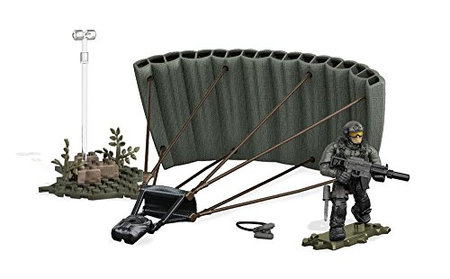 Mega Construx Bloks - DXB59 Call of Duty Jungle Paratrooper Drop - Fallschirmspringer