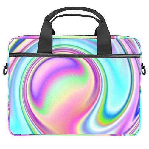Bolsa de ordenador portátil Realidad Virtual Notebook Sleeve con mango 13.5-14.5 pulgadas que lleva el bolso de hombro maletín