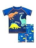 Harry Bear Jungen Zweiteiliger Badeanzug Dinosaurier Blau 110