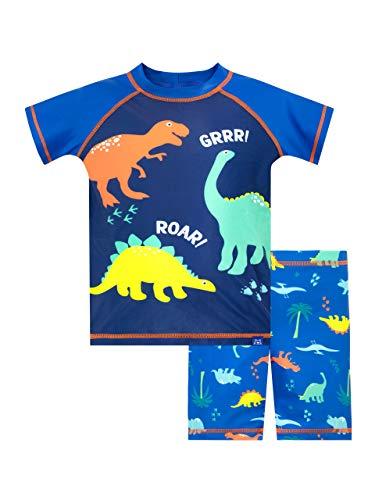 Harry Bear Jungen Zweiteiliger Badeanzug Dinosaurier Blau 92