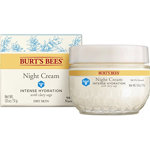 BURT'S BEES - Intense Hydration Night Cream - 1.8 oz. (50 g)