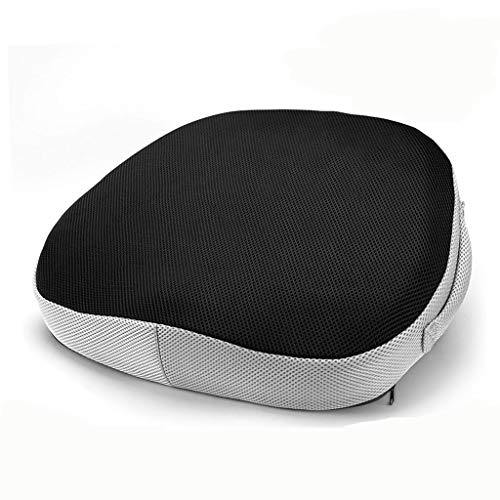 ZYM Memory Foam Seat Cushion, Ergonomic Coccyx Pads Relieves Back Hip Sciatica Pain for Home Ofiice Wheelchair Car,D