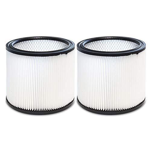 Filter for Shop Vac 90304 90350 90333 9030400 903-04-00 Vacuum Cleaner Replacement Filter for 5 Gallon and Larger We & Dry Vacuum Filter