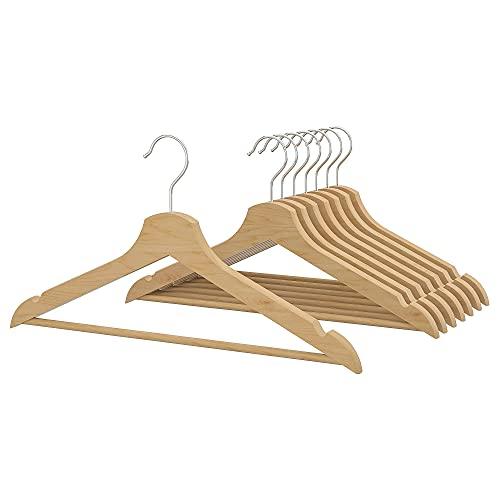 IKEA BUMERANG - Perchero de madera curvada (2 unidades)