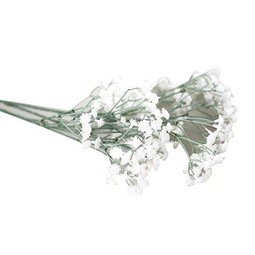 DOGZI Flores Gypsophila de Artificiales Simulacion Artificial romántico Sosteniendo Falsa Ramo de Novia Boda Partido Decoración del hogar Flores secas Naturales Flores de Tela Regalo de San Valentin