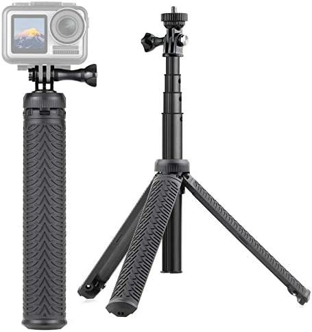 SOONSUN 3 in 1 Aluminum Telescoping Selfie Stick Waterproof Monopod Pole Handheld Grip with product image