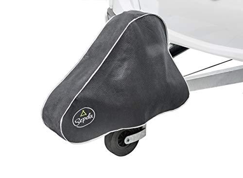SEPDA Deichselhaube mit Klickverschluss für Wohnwagen und Anhänger - große Deichselabdeckung für Deichseln mit Kastenschloss und/oder Antischlingerkupplung