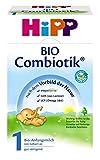 Hipp organico Infant Formula 1 Combiotik - dalla nascita, 2er Pack (2 x 600g)