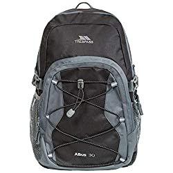 Made from durable polyester ripstop Multi-function and adjustable backpack Three zip sections on the front Side mesh pocket for water bottle and internal key ring Suitable for hikes, backpacking trips and daily commute to work