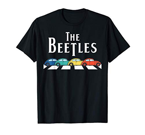 Classic Vintage Buggy Car The Beetles Old Bugs Lover T-Shirt