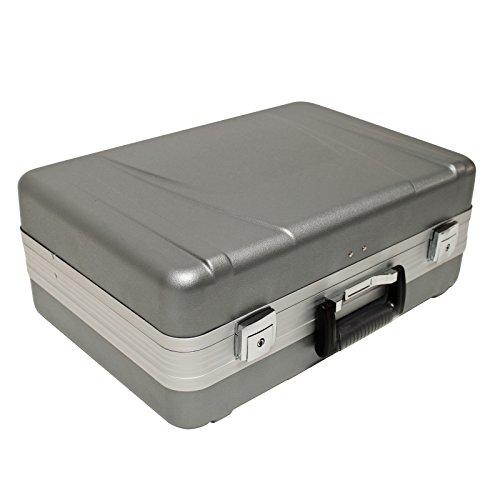 DEMA Werkzeugkoffer ABS grau 6+