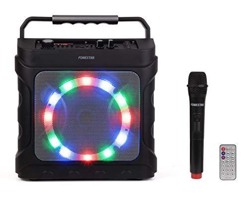 FONESTAR PARTYBOX Altavoz PORTATIL con Karaoke