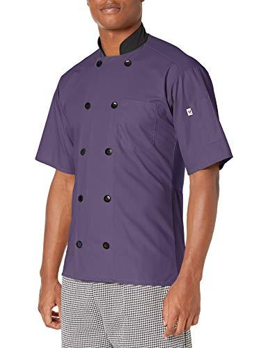 Uncommon Threads Men's Plus Size 0494-5308, Eggplant, 4XL