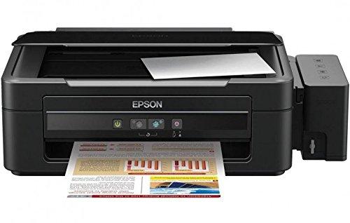 Epson L L210 - Impresora multifunción (Inyección de Tinta, 600 x 1200 dpi, A4, Negro, Color, Cama Plana)