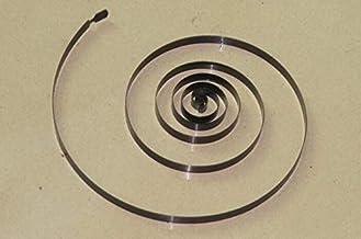 Taglia : 0.9 x 6 x 10mm NO LOGO W-NUANJUN-Spring 10pcs Filo Diametro 0,9 Millimetri di Compressione della Molla Bianco zincato Tensione della Molla Accessori Hardware Esterno 6 mm di Diametro