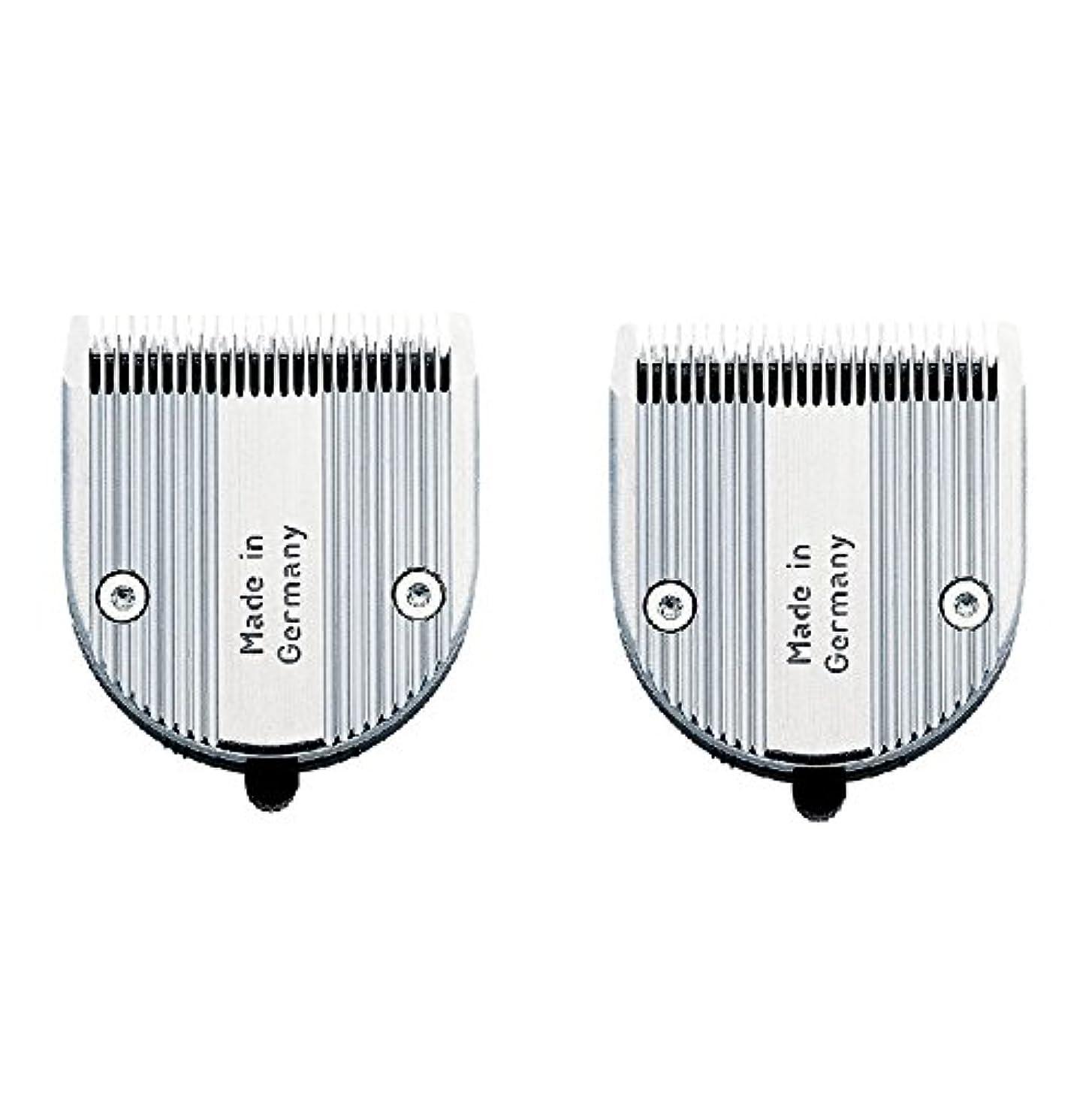 競争力のある不毛の独立【2枚セット】 WAHL クロムスタイル?プロ 専用替刃 標準 可変0.6~3mm