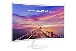 Samsung 32-inch Curved LED white gaming Monitor