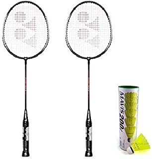 Yonex GR 303 Aluminum Badminton Kit, Black